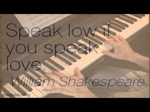 Speak Low - One Touch of Venus - Piano