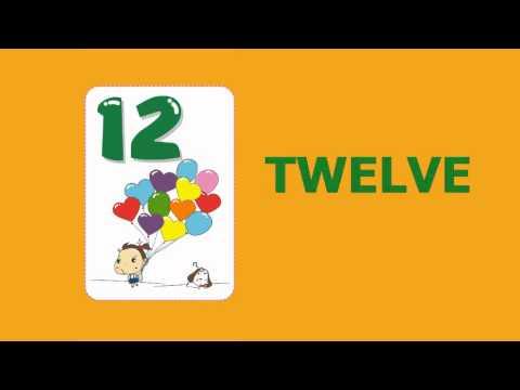 English Number for Children (1-20) สอนนับเลขภาษาอังกฤษ  1-20