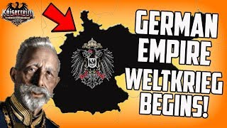 The Second Weltkrieg! Hearts of Iron 4 Germany Kaiserreich Campaign