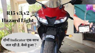 Yamaha R15 V3 Hazard Light.