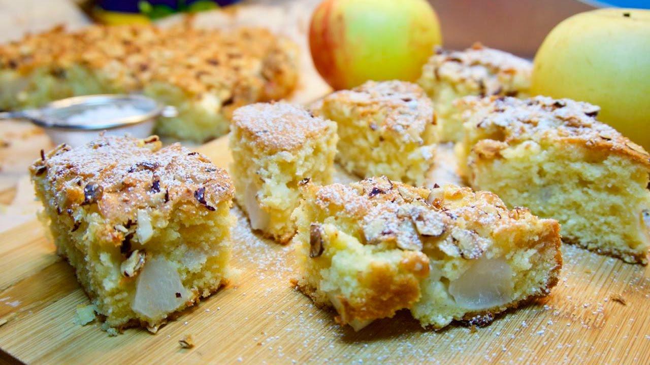 Apfel Birnen Kuchen Mit Pudding Appetitlich Foto Blog Fur Sie