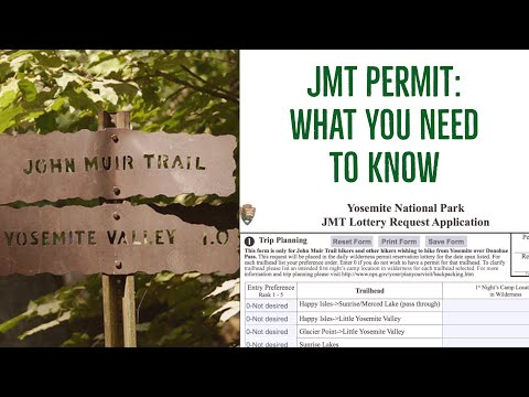 Everything you need to know about a JMT permit