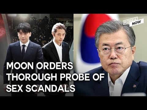 S. Korean President orders thorough probe into sex scandal involving K-pop stars, 'Burning' director Mp3