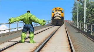 CAN HULK STOP THE TRAIN IN GTA 5? thumbnail