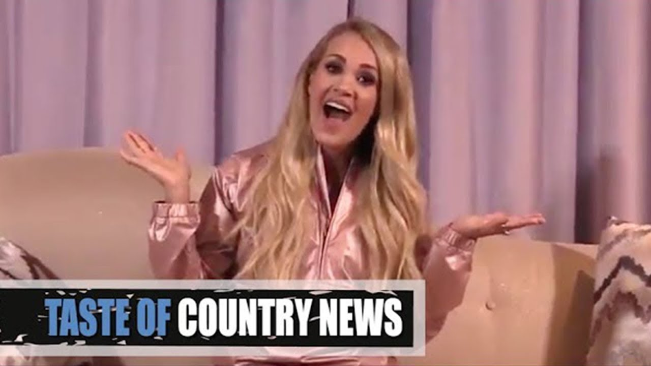 Carrie Underwood's Pregnancy Reveal Is Super Cheeky!