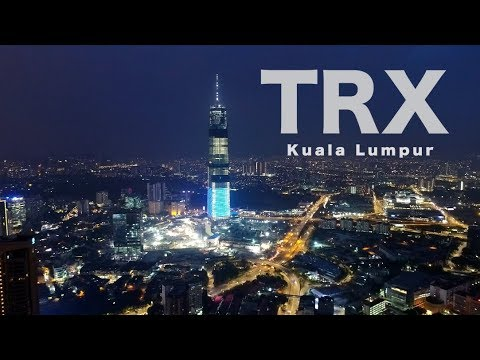 TRX Signature Tower, The ASEAN's Tallest - Progress as 13 April 2018