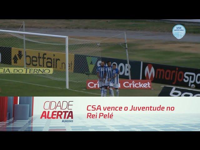 Futebol: CSA vence o Juventude no Rei Pelé