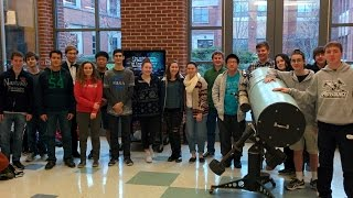 GHS Astronomy Club Weather Balloon Launch (short video version)