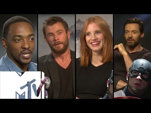 Captain America: Civil War - 15 Celebs Choose TEAM IRON MAN or TEAM CAP | MTV Movies