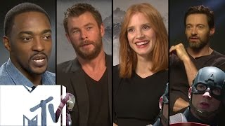 Captain America: Civil War - 15 Celebs Choose TEAM IRON MAN or TEAM CAP | MTV Movies