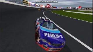 NASCAR Revolution (PC) Race #3 Gameplay (Geoff Bodine) (Atlanta) (9 Laps)