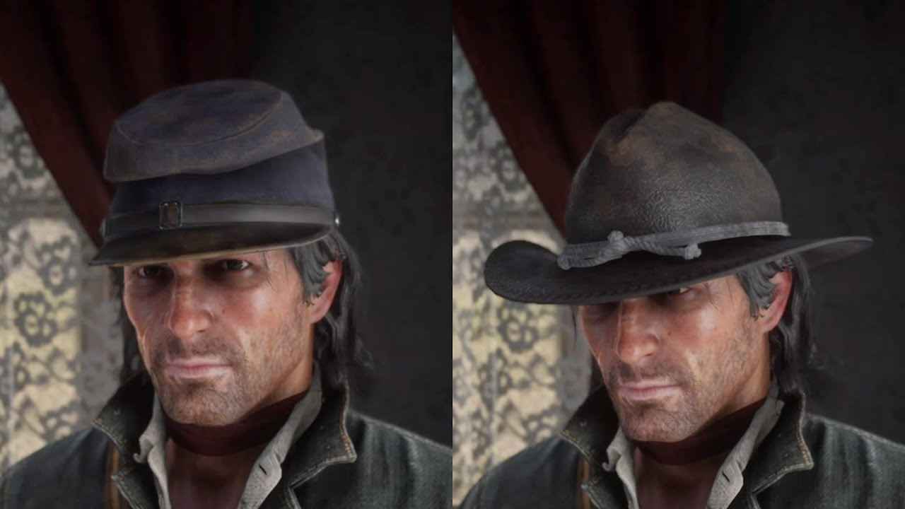 Red Dead Redemption 2 - Military Forage Cap / Military Officer's Hat (NEW  LOCATIONS) (Found/Stolen)