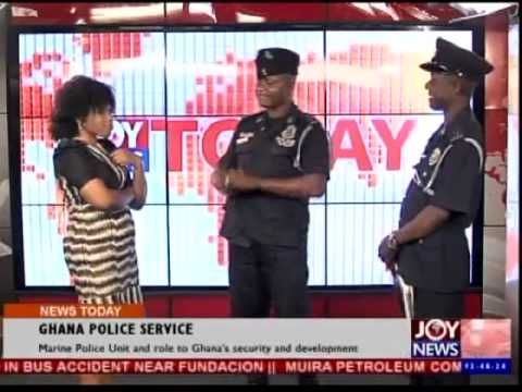 Marine Police Unit and role to Ghana's security and development