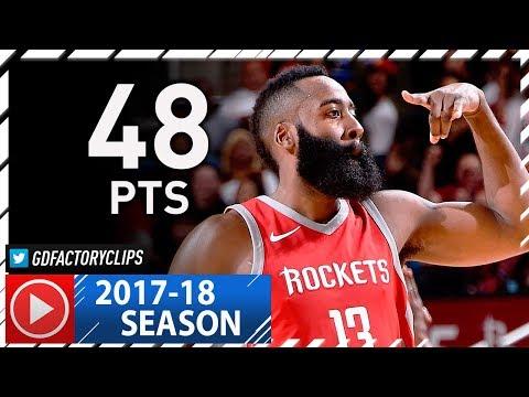 James Harden CRAZY Full Highlights vs Suns (2017.11.16) - 48 Pts, 33 in 1st Half, MVP!