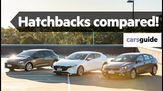 Mazda 3 vs Toyota Corolla vs Kia Cerato 2019 comparison review