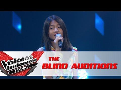 Chaini Sewindu  The Blind Auditions  The Voice Kids Indonesia Season 2 GTV 2017
