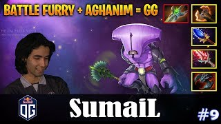 SumaiL - Faceless Void Safelane | BATTLE FURY + AGHANIM = GG | Dota 2 Pro MMR Gameplay #9