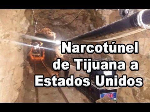 Descubren narcotúnel que va de Tijuana a San Diego