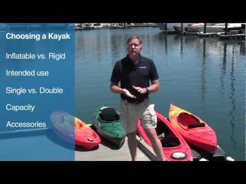 Buyer's Guide to Selecting the Right Kayak
