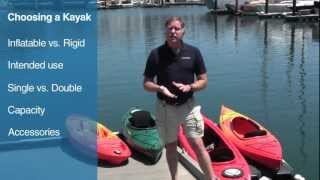 Buyer's Guide to Selecting the Right Kayak(West Marine Buyer's Guide on Choosing a Kayak. For more info please visit http://www.westmarine.com., 2012-06-21T23:57:40.000Z)