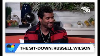 """Russell Wilson Shows Off His """"1, 2 Step"""""""