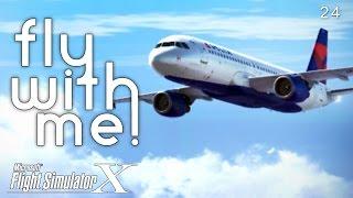 Microsoft Flight Simulator X - A320 to STL Part I