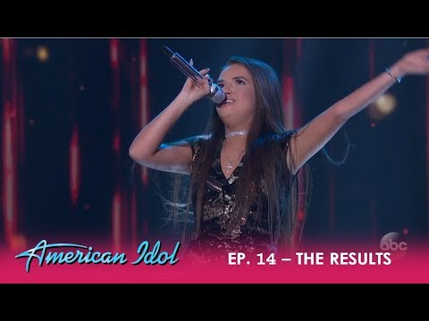 Mara Justine: The Youngest Contestant Puts It All On The Line For A Spot | American Idol 2018