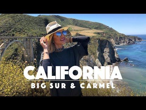 Um dia em Carmel passeando pela Big Sur - vlog de viagem na California - Ep.5