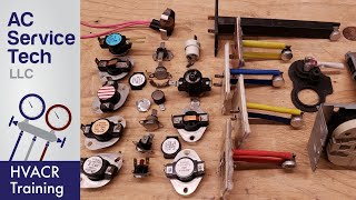 HVAC Thermal Limit Switches, Safety Sensors, & Troubleshooting!