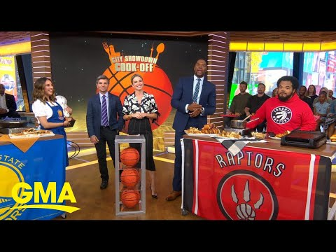 Celebrity Chefs Cook Recipes Inspired By Their Favorite NBA Teams L GMA
