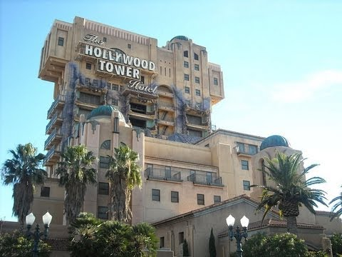 The Twilight Zone Tower Of Terror Ride At Disney California Adventure Park Hdthrillseeker