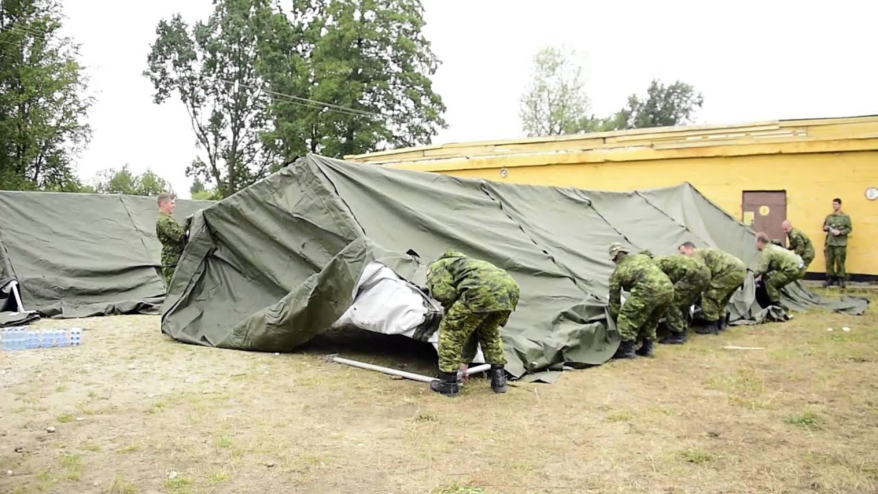 & Operation UNIFIER - Tents setup - YouTube
