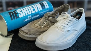 Reshoevn8r Challenge - How to clean really dirty White Vans