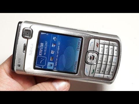 Реставрация Nokia N70 ремонт телефона   Restoring Broken Cell Phone