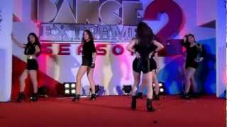 """The 1st Impression"" cover 4minute (1) @ งาน Dance Extreme Season2"