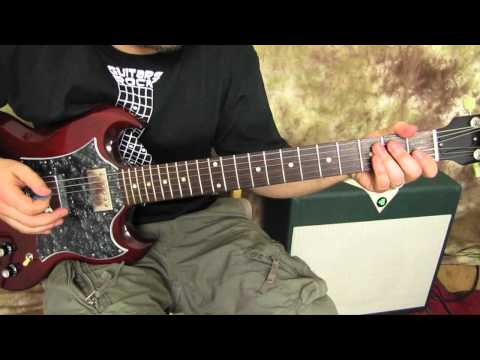Guitar Lessons - Rock Guitar Lessons - Chords - Power Chords like ACDC,The Who, Led Zeppelin