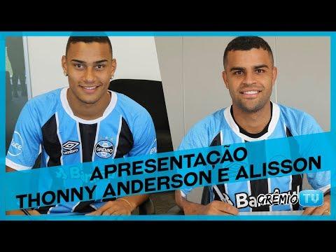 Apresentação Thonny Anderson e Alisson l GrêmioTV