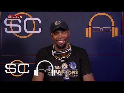Kevin Durant Honored To Compete Against LeBron James | SC With SVP | June 13, 2017