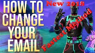 Fortnite How to Change your Epic Games Email/Fortnite Email [Working] July 3, 2019 [FASTEST METHOD]