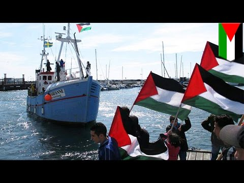 Palestine vs Israel: Israeli navy prevents freedom flotilla vessel from reaching Gaza - TomoNews