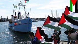 Palestine vs Israel: Israeli navy prevents freedom flotilla vessel from reaching Gaza - TomoNews