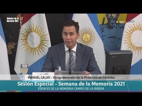 Sesión Especial Semana de la Memoria 2021 - 143 Periodo Legislativo - 23 de Marzo 2021