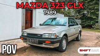 Mazda 323 GLX 1989 Classic POV Drive GoPro 9 [4K]