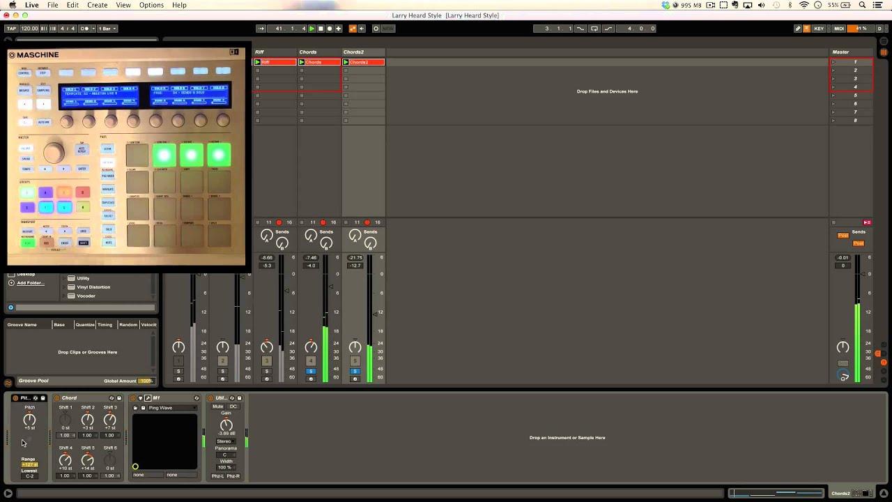 Maschine Template & Ableton Live 9 - Jazz House Deconstruction ...
