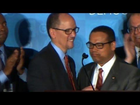 Perez names rival Ellison as deputy DNC chair