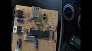 Repeat youtube video CAN OBD II Reader