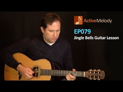 Bluesy Version of Jingle Bells on Acoustic Guitar Lesson  EP079