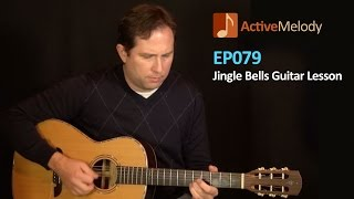 Bluesy Version of Jingle Bells on Acoustic Guitar (Lesson) - EP079
