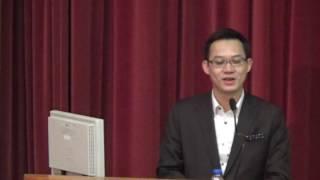 2016-11-03 佛教茂峰法師紀念中學 名人講座 (嘉賓