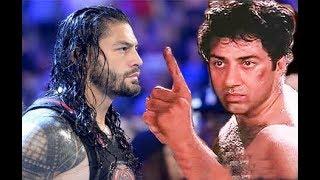 Roman Reigns VS Sunny Deol | tarikh pe tarikh dialogue